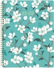 Weekly Amp Monthly Planner 2021 2022 Teal Large 8x10 Academic Planner With Tabs