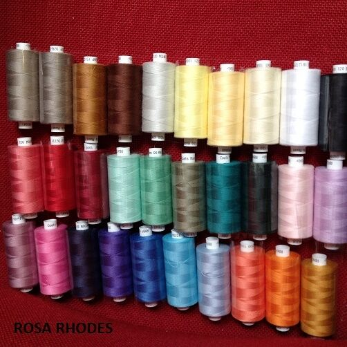 Moon 1000m Polyester Thread M0002