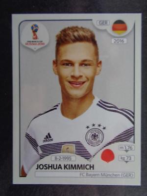 Joshua Kimmich Deutschland Panini WM 2018 World Cup Russia Sticker 438