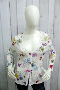 ICEBERG-Donna-Maglione-Sweater-Cardigan-Woman-Maglietta-Jersey-Shirt-Taglia-XL