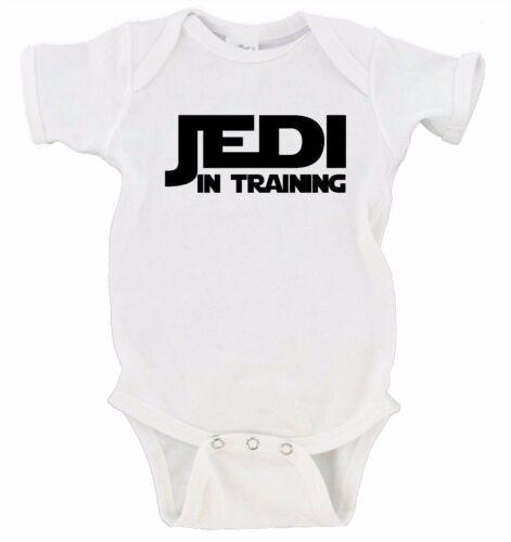 Jedi in Training Star Wars Baby Onesie Nerdy Nerd Geek Gerber Bodysuit One-Piece