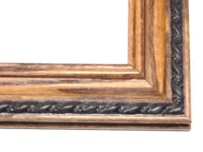"1 1/4"" Oak Solid Wood Picture Frames w/rope-Custom Standard Sizes"