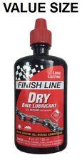 Finish Line Dry Bike Lube Teflon Chain Bottle Larger Size 4 oz Ounce