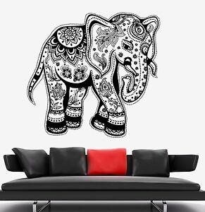 Tribal Elephant Room Decor