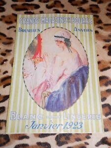 Catalogue-Grands-Magasins-de-la-Bourse-Bruxelles-Blancs-et-lingerie-1923