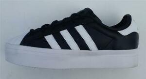 ADIDAS Originals Superstar Rize Black WHTE UK Taglia 4 S75069