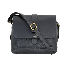 Fossil Women's Leather Kinley Small Black Cross Body Bag ZB6749001