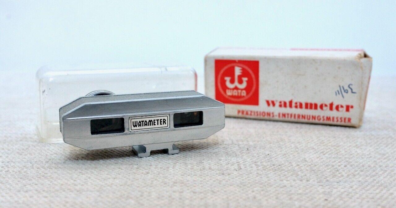 Vintage WATA WATAMETER I Rangefinder finder piece for Camera Germany shoe mount