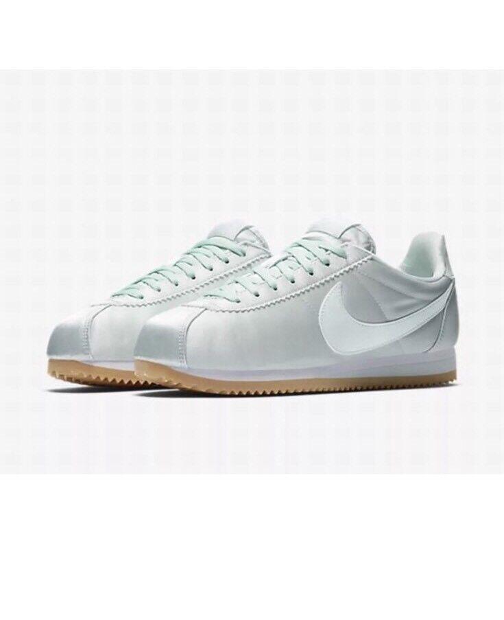 Nike Wmns Classic Cortez Satin QS 920440-300 Taille UK 8 EUR 42.5 US 10.5 cm 27.5-