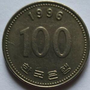 South Korea 1996 100 Won coin