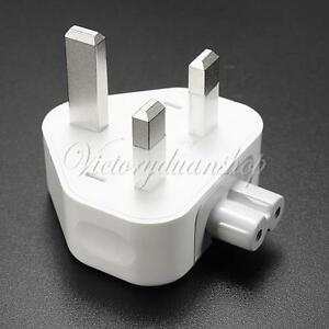 Uk 3 Pin Ac Power Travel Wall Plug Adaptor Charger For