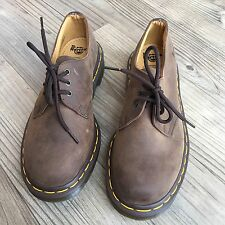 Dr. Doc Martens  Brown Leather Shoes 3-Eye Oxford Smooth Lace Up 1461 Size 6