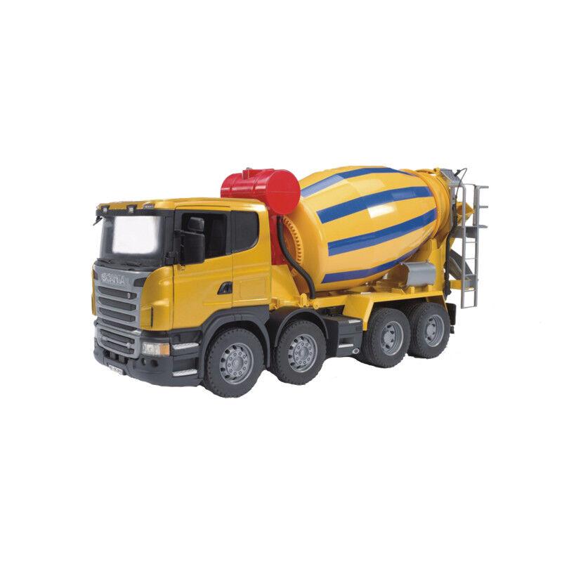 03554 Bruder Scania R Betonmisch-LKW Profi Serie für Innen und Außen geeignet