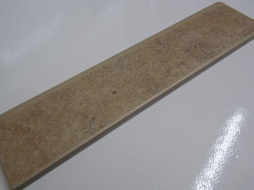 8x33 fliese keramik feinsteinzeug braun beige genarbt sockelleiste sockel ca
