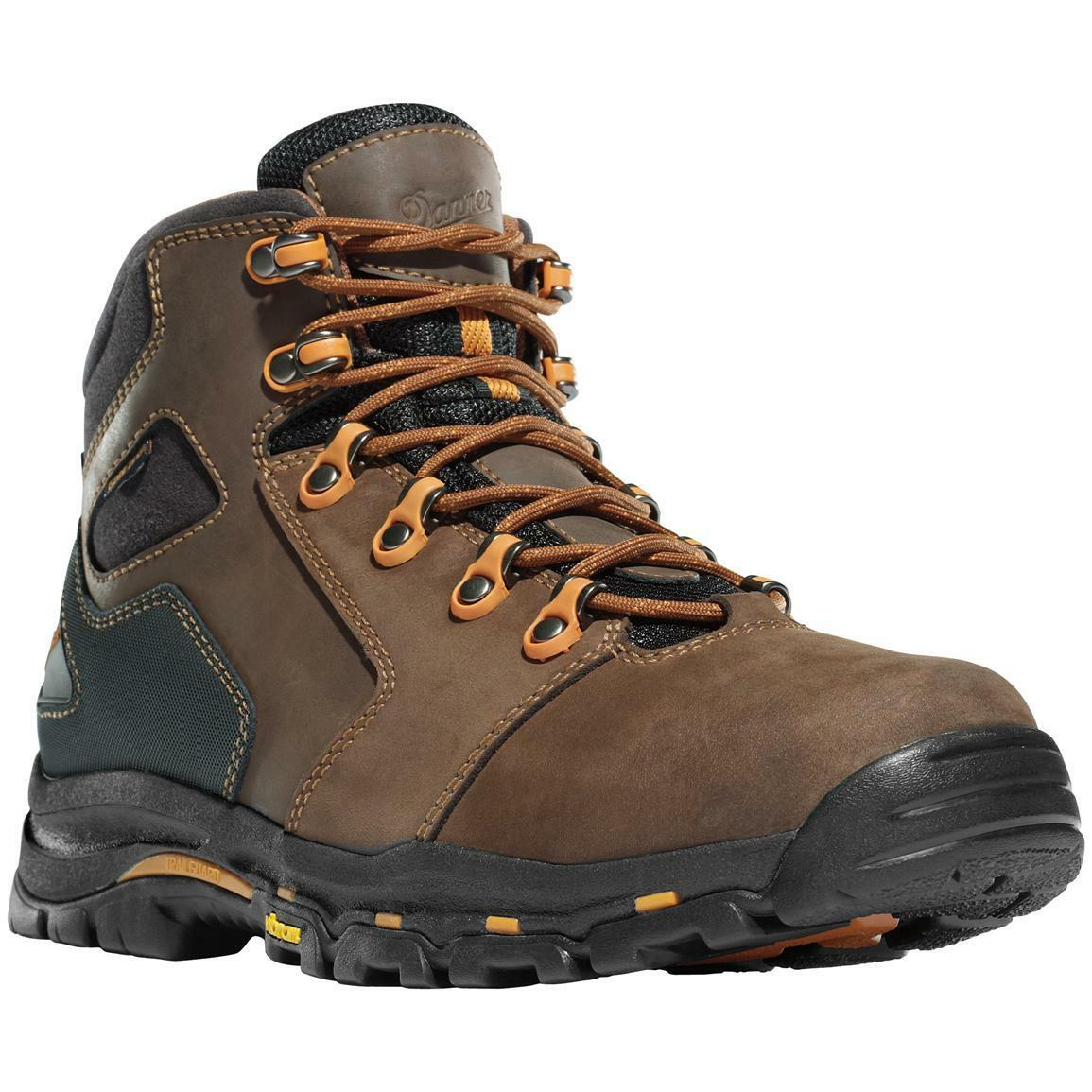 NEW Danner Vicious Work Hiking Boots, 4.5  Brown Leather, Gore-Tex Waterproof