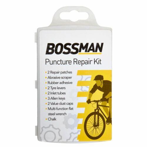 Front Back LED Bike Light FlashWaterproof Cover Bicycle Puncture Repair Kit