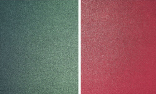 40 x A4 CHRISTMAS PAPER 20 RED  20 GREEN 120GSM PEARLESCENT SPARKLE DOUBLE SIDED