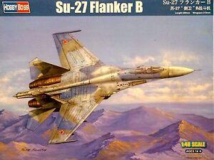 Hobbyboss-1-48-Sukhoi-Su-27-Flanker-B-AIRCRAFT-MODEL-KIT