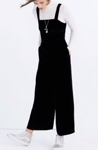 87f4016aec9 NEW Madewell For Jcrew  158 crushed velvet wide-leg jumpsuit Size12 ...