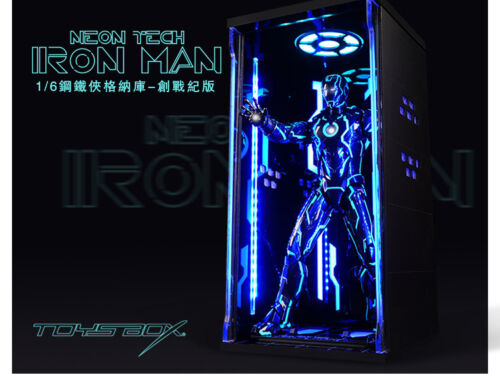 1//6 TOYS BOX Iron Man Hangar 4.0 MK4 Dustproof Figure Display Box Case Model
