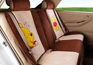 18pcs 2017 new 1 sets Cartoon car seat cover plush seat covers car ...