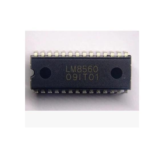10PCS LM8560 SANYO DIP-28 Digital Alarm Clock