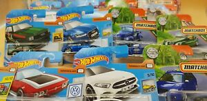 MATCHBOX-HOT-WHEELS-2019er-Modeles-liasse-20-Piece