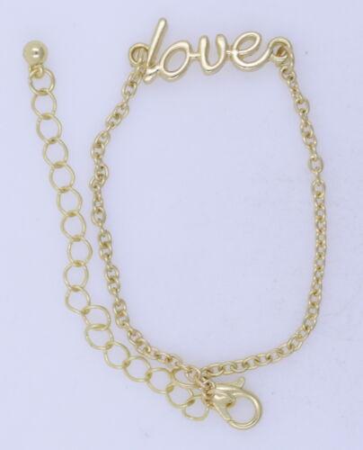 Punk goth disco love  chain bracelet multiple choices