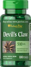 Artiglio del Diavolo 510 mg x 100 Capsule Puritan Pride ** INCREDIBILE PREZZO **