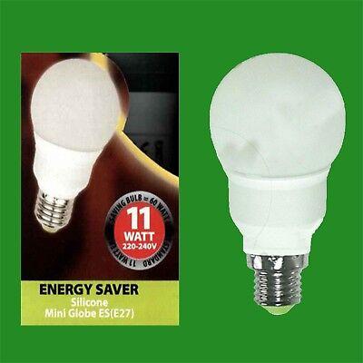 3x 4W E27 3000K A60 GLS ES Low Energy LED Light Bulb Lamp = 25W