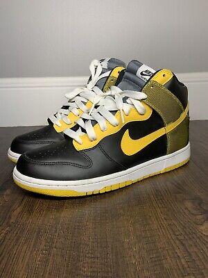 Nike Dunk High Size 10 North Black
