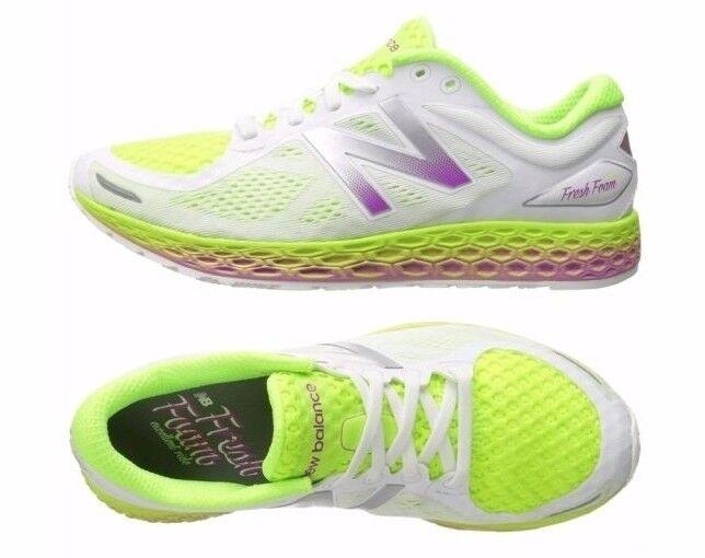 NEU Balance Damens Schuhes WEISS Neon Zante V2 Fresh Foam Cushioned Sneakers NEU