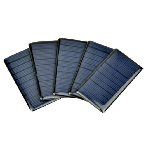 Aiyima 10pcs 5 V 65 mA polycristallin Poly Panneau Solaire Cellule Solaire SUNPOWER cellule