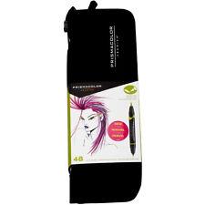 Prismacolor Brush Marker Set/48 With Case