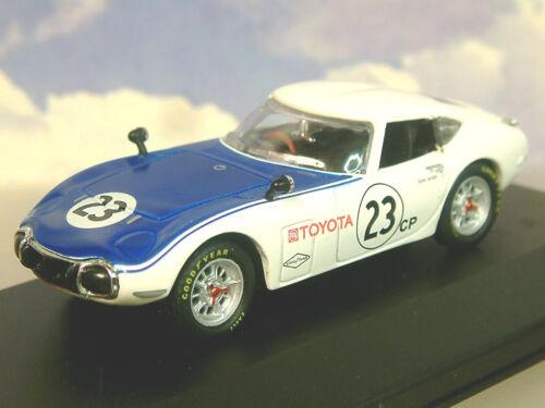 SUPERB DIECAST 1//43 SHELBY-TOYOTA 2000GT 2000 GT#23  SCCA RACER DAVE JORDAN 1968