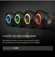 Electric Waterproof Power Led Light Momentary Short Mini Push Button Switch
