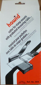 HAWID-STAMP-MOUNT-CUTTER-Large-GUILLOTINE-Steel-Blade-Cuts-up-to-153mm-No-604