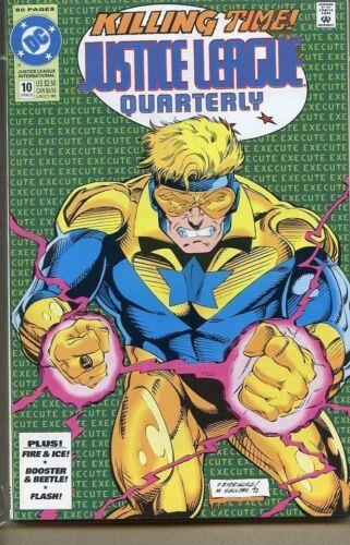 Justice League Quarterly 1990 series # 8 near mint comic book