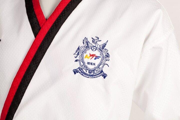 Poomsae Anzug Jungen von KWON. 55% Baumwolle 45% Polyester. Polyester. Polyester. 1.-4. DAN. 140-180cm b4b669