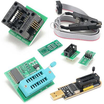 CH341A 24 serie 25 EEPROM flash BIOS Programador USB adaptador de chip IC SOIC 8 SOP8