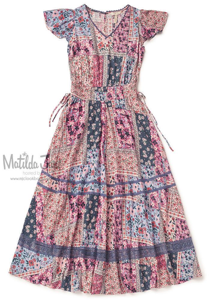 Womens Matilda Jane Camp MJC The Wildlife Maxi Dress Size XL X large NWT