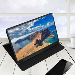 Portable-15-6inch-Monitor-LED-IPS-Ultra-Slim-1080P-HD-Display-HDMI-USB-Type-C