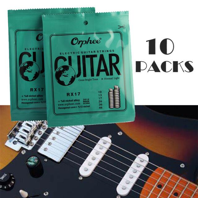 10 PCS//Set high E first string for acoustic or folk guitar