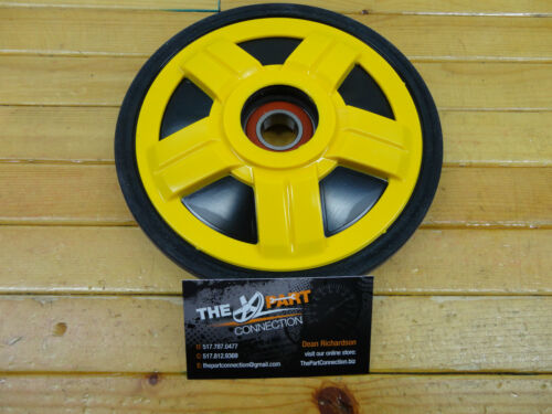 SKI DOO YELLOW PPD OEM 180MM IDLER WHEEL OEM503190342 FITS MOST REV AND XP 08-12