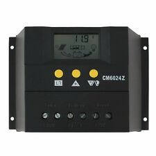 60A 12-24V Solar Regulator Charge Controller LCD Solar Genetator Voltage Control