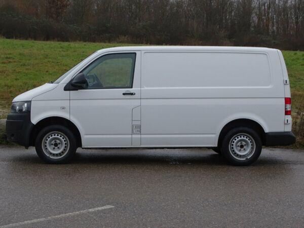 VW Transporter 2,0 TDi 140 Kassev. kort - billede 1