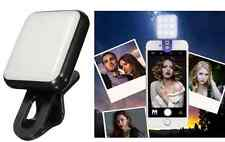 9 Leds Selfie Flash Light Phone Retina Flash Light For iPhone ios Samsung  White