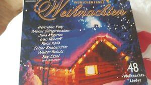 Frohe Weihnachten Cd.Details Zu Weihnachten Cd Beliebte Stars Wunschen Frohe Weihnachten 3 Cds 48 Lieder