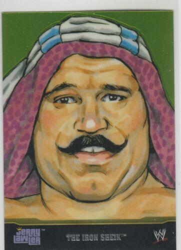 2014 Topps Chrome WWE Champion Portraits Iron Sheik #1