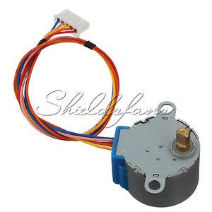 Engranaje De Motor De Pasos Dc 12v paso Motor 28byj-48-12v 4 fase reducción Arduino
